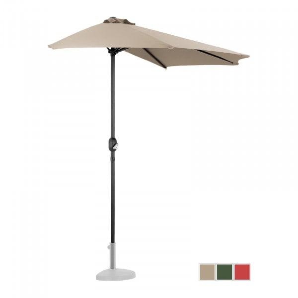 Occasion Demi-parasol - Crème - Pentagonal - 270 x 135 cm
