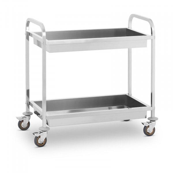 Chariot de service - 2 bacs - 320 kg