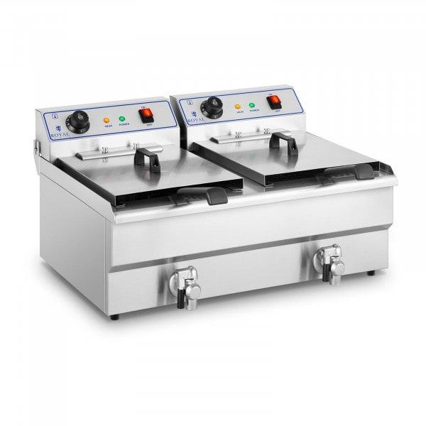 Occasion Friteuse électrique - 2 x 16 litres - 400 volts