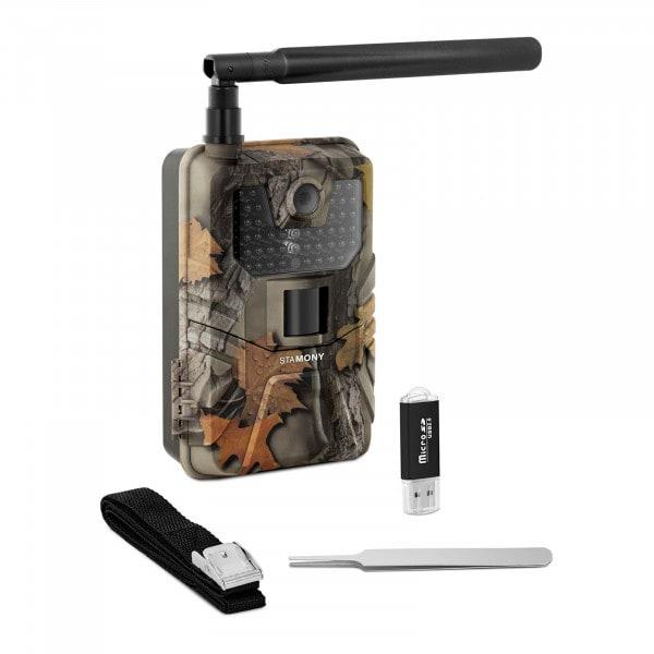 Occasion Caméra de chasse - 8 Mpx - HD intégrale - 44 LED infrarouge - 20 m - 0,3 s - LTE avec amplificateur GSM