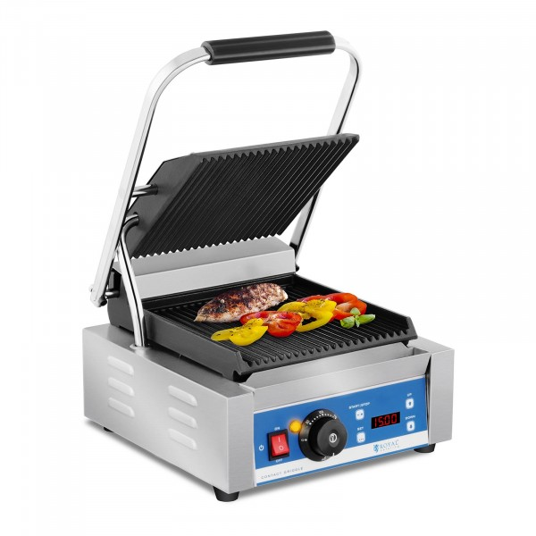 Occasion Machine à panini - striée - minuterie - 1800 W